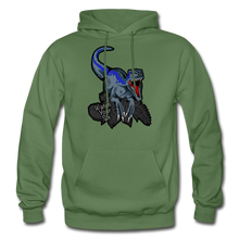 Load image into Gallery viewer, Watch Your Six - Heavy Blend Hoodie - military green