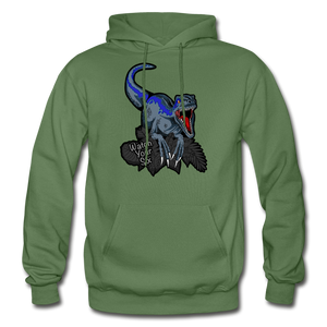 Watch Your Six - Heavy Blend Hoodie - military green
