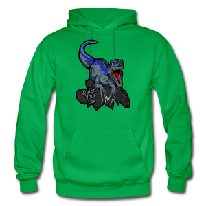 Watch Your Six - Heavy Blend Hoodie - kelly green