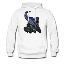 Load image into Gallery viewer, Watch Your Six - Midweight Hoodie - white