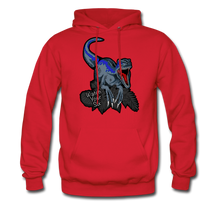 Load image into Gallery viewer, Watch Your Six - Midweight Hoodie - red