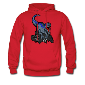 Watch Your Six - Midweight Hoodie - red