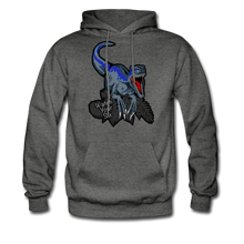 Load image into Gallery viewer, Watch Your Six - Midweight Hoodie - charcoal gray
