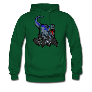 Watch Your Six - Midweight Hoodie - forest green