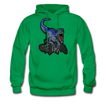 Load image into Gallery viewer, Watch Your Six - Midweight Hoodie - kelly green
