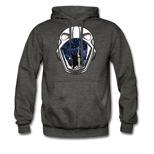 SpaceX Crew Dragon Tribute - Heavyweight Hoodie - charcoal