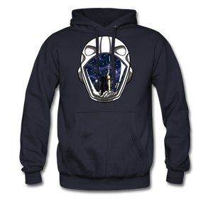 SpaceX Crew Dragon Tribute - Heavyweight Hoodie - navy