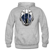 Load image into Gallery viewer, SpaceX Crew Dragon Tribute - Heavyweight Hoodie - heather grey