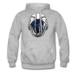 SpaceX Crew Dragon Tribute - Heavyweight Hoodie - heather grey