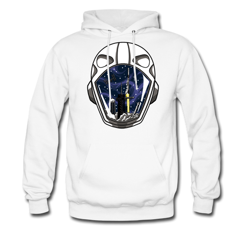 SpaceX Crew Dragon Tribute - Midweight Hoodie - white