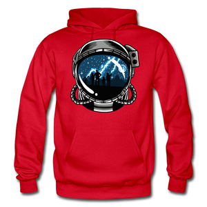 Inspiration - Heavy Blend Hoodie - red