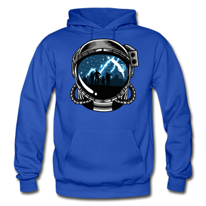 Inspiration - Heavy Blend Hoodie - royal blue