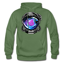Load image into Gallery viewer, Orion's Nebula - Heavy Blend Hoodie - military green