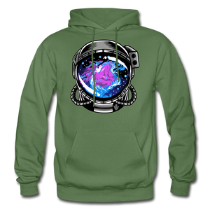 Orion's Nebula - Heavy Blend Hoodie - military green