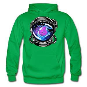 Orion's Nebula - Heavy Blend Hoodie - kelly green