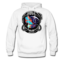 Load image into Gallery viewer, Cosmic Ocean Helmet - Midweight Hoodie - white