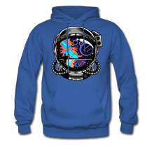 Load image into Gallery viewer, Cosmic Ocean Helmet - Midweight Hoodie - royal blue