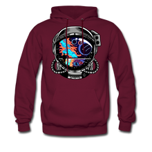 Load image into Gallery viewer, Cosmic Ocean Helmet - Midweight Hoodie - burgundy
