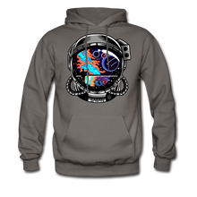 Load image into Gallery viewer, Cosmic Ocean Helmet - Midweight Hoodie - asphalt gray