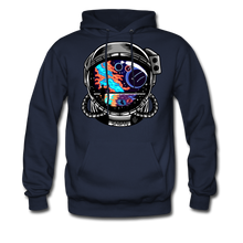 Load image into Gallery viewer, Cosmic Ocean Helmet - Midweight Hoodie - navy