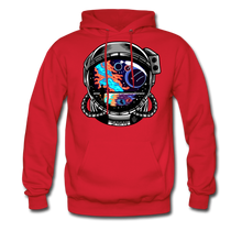 Load image into Gallery viewer, Cosmic Ocean Helmet - Midweight Hoodie - red