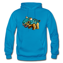 Load image into Gallery viewer, Bumpy - Heavy Blend Hoodie - turquoise