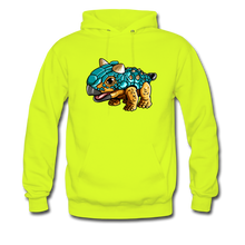 Load image into Gallery viewer, Bumpy - Midweight Hoodie - safety green