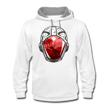 Load image into Gallery viewer, Time Treavelers - Contrast Hoodie - white/gray