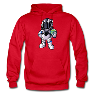 Rocketman - Heavy Blend Hoodie - red