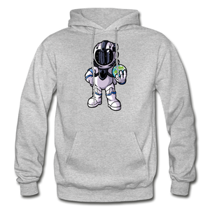 Rocketman - Heavy Blend Hoodie - heather gray