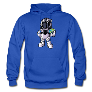 Rocketman - Heavy Blend Hoodie - royal blue