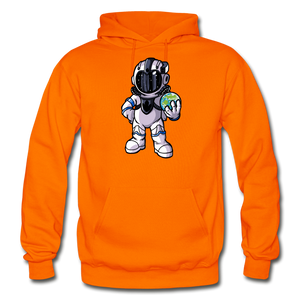 Rocketman - Heavy Blend Hoodie - orange
