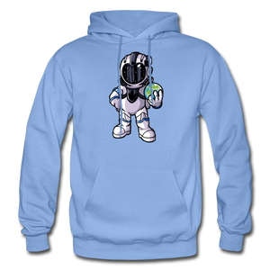 Rocketman - Heavy Blend Hoodie - carolina blue