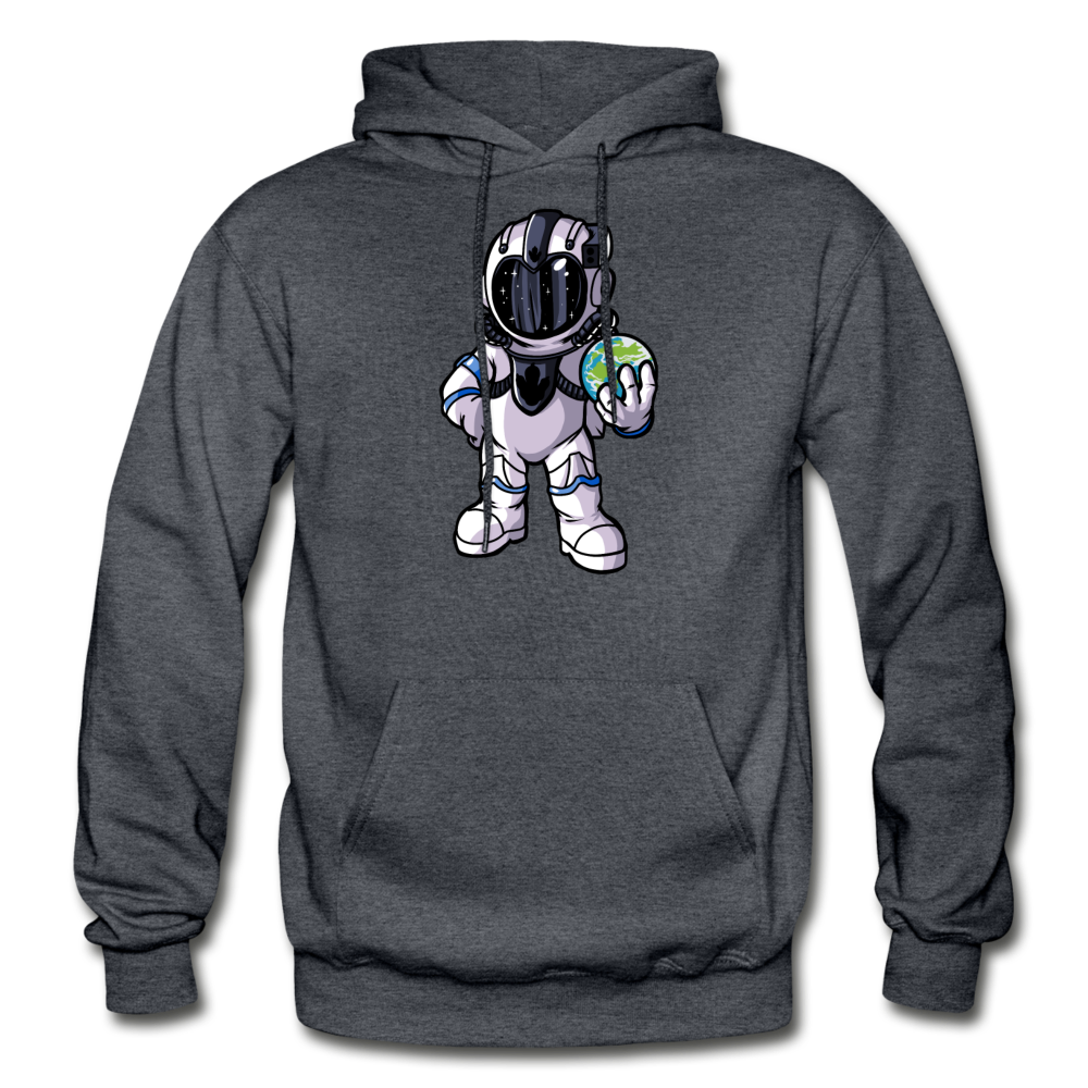 Rocketman - Heavy Blend Hoodie - charcoal gray