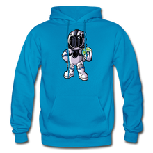 Load image into Gallery viewer, Rocketman - Heavy Blend Hoodie - turquoise