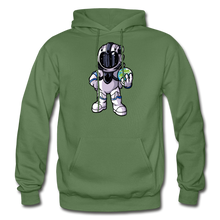 Load image into Gallery viewer, Rocketman - Heavy Blend Hoodie - military green