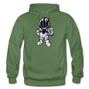 Rocketman - Heavy Blend Hoodie - military green