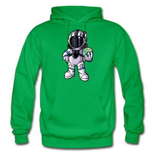Rocketman - Heavy Blend Hoodie - kelly green