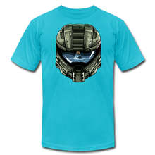 Load image into Gallery viewer, HMC Tribute Helmet - T-shirt - turquoise