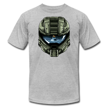 Load image into Gallery viewer, HMC Tribute Helmet - T-shirt - heather gray