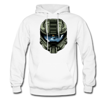 Load image into Gallery viewer, HMC Tribute Helmet - Midweight Hoodie - white