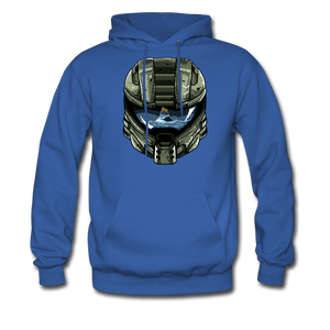 HMC Tribute Helmet - Midweight Hoodie - royal blue