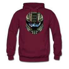 Load image into Gallery viewer, HMC Tribute Helmet - Midweight Hoodie - burgundy