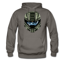 Load image into Gallery viewer, HMC Tribute Helmet - Midweight Hoodie - asphalt gray