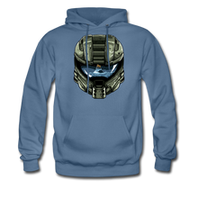 Load image into Gallery viewer, HMC Tribute Helmet - Midweight Hoodie - denim blue
