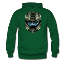 Load image into Gallery viewer, HMC Tribute Helmet - Midweight Hoodie - forest green