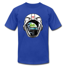 Load image into Gallery viewer, Starman Tribute T-shirt - royal blue