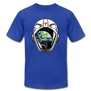 Starman Tribute T-shirt - royal blue