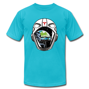 Starman Tribute T-shirt - turquoise