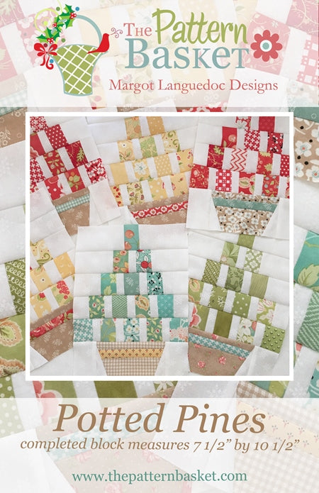 Pattern Basket Patterns - Margot Languedoc Designs -Greatest Scrap Buster Ever